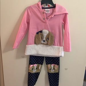 Little girl Sweatshirt & pants set